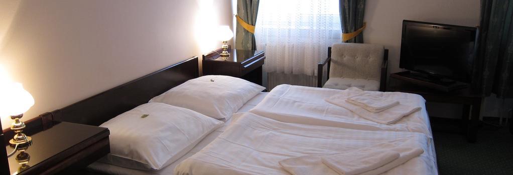 ホテル オメガ ブルノ - ブルノ - 寝室