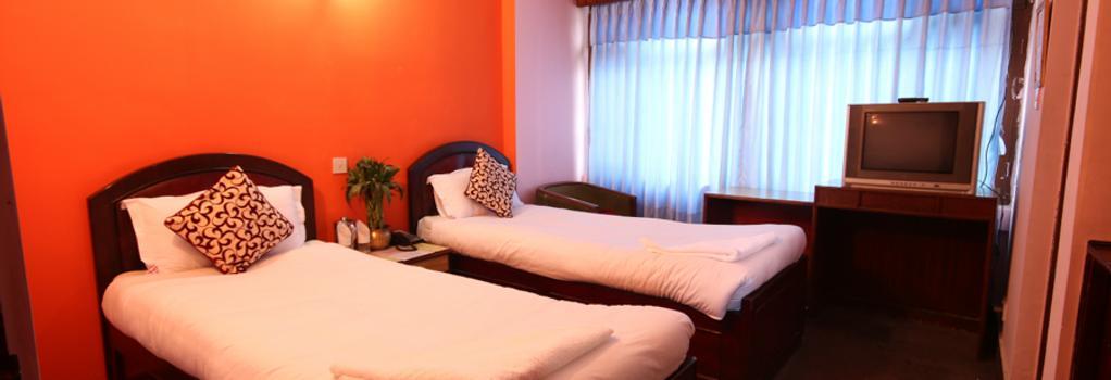 Hotel Lily Kathmandu - カトマンズ - 寝室