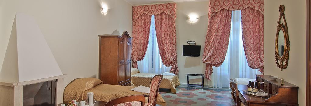 ホテル ル クラリッセ アル パンテオン - ローマ - 寝室