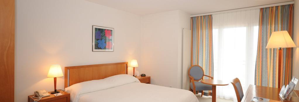 ホテル ブリストル & スパ ブリストル - モントルー - 寝室