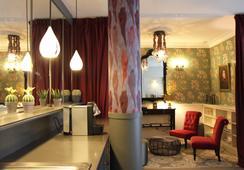 ベストウエスタン ホテル リテレール ギュスターヴ フローベール - ルーアン - ラウンジ