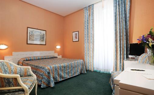 ホテル パトリア - ローマ - 寝室