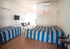 Cool Palms Motel - Mackay - 寝室