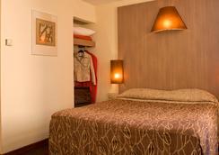 オテル カレ ヴュー ポール - マルセイユ - 寝室
