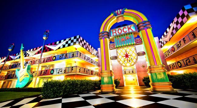 Disney's All-Star Music Resort - レイク・ブエナ・ビスタ - 建物