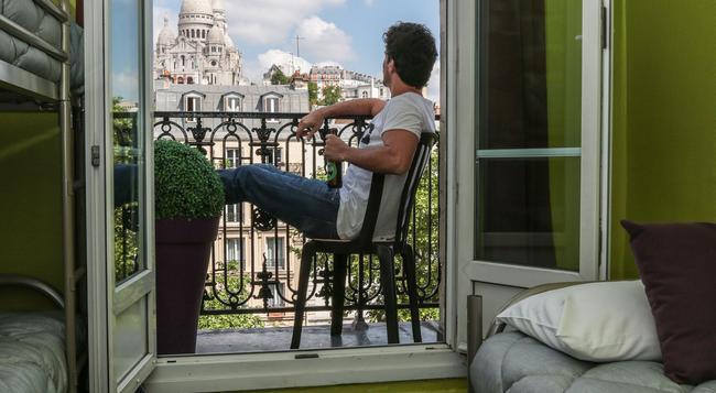 ル リージェント ホステル モンマルトル ホステル & バジェット ホテル - パリ - 寝室