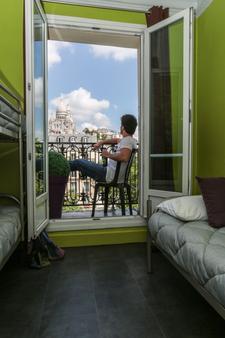 ル レジェント モンマルトル バイ ヒホフォストテルズ - パリ - 寝室