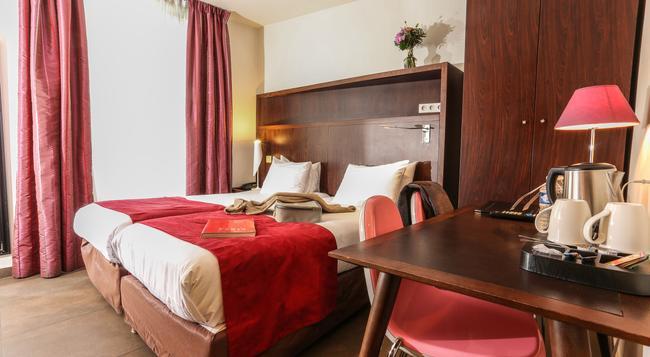 アバロン ホテル パリ ガール デュ ノール - パリ - 寝室