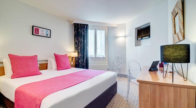 ホテル コーマルティン オペラ アストテル - パリ - 寝室