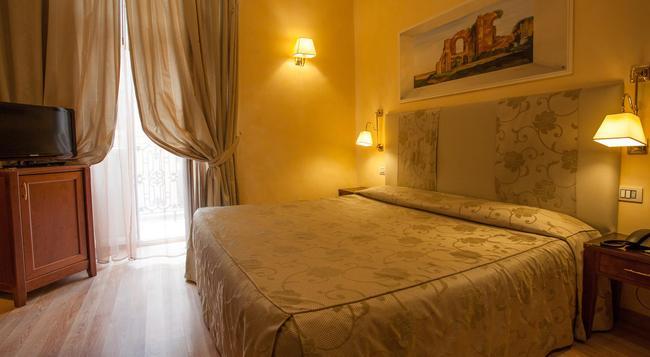 ホテル カメリア - ローマ - 寝室