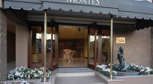 ヴィラ モンテス ホテル - San Bruno - 建物