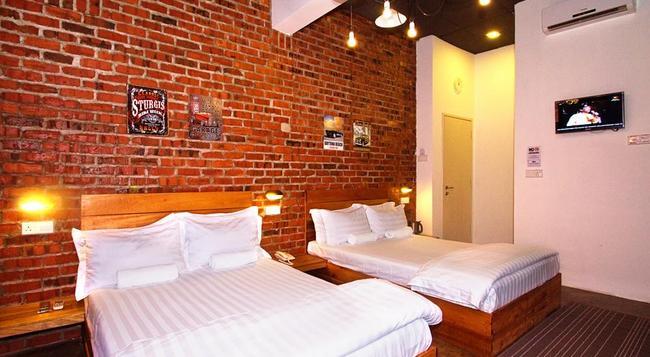 ramarama Designer Boutique Hotel - マラッカ - 寝室
