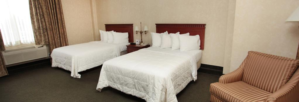 Hotel Mtl Express Aeroport De Montréal - ドルヴァル - 寝室