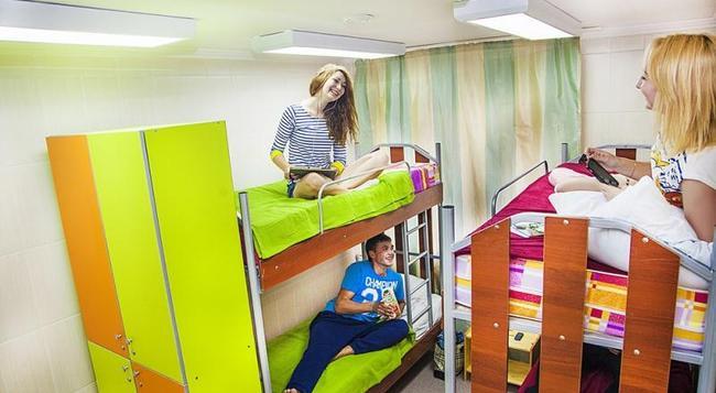 Millenium Hostel - オムスク - 寝室