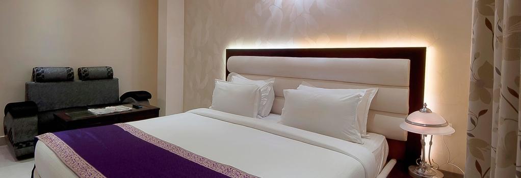 ホテル セントラル レジデンシー - バラナシ - 寝室