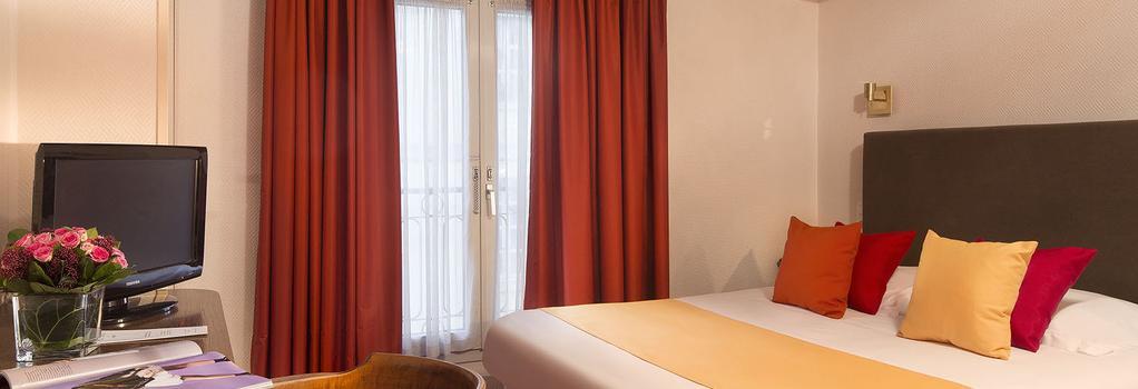 ホテル サン ロック - パリ - 寝室