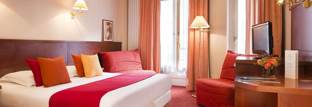 オテル ロンドル サントノレ - パリ - 寝室
