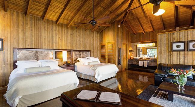 Las Lagunas Boutique Hotel - Flores - 寝室