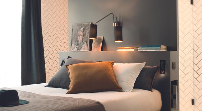 COQ ホテル パリ - パリ - 寝室