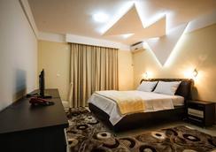 Hotel Oasis - ポドゴリツァ - 寝室