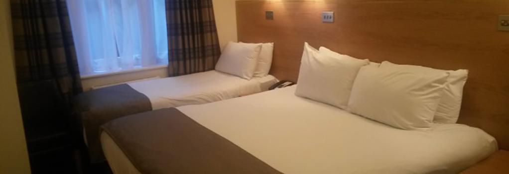 リージェンシー ホテル パークサイド - ロンドン - 寝室