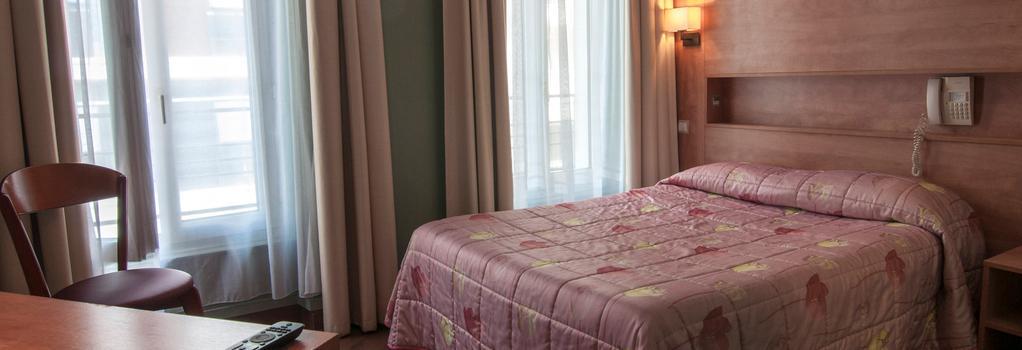 パルマ ホテル - パリ - 寝室