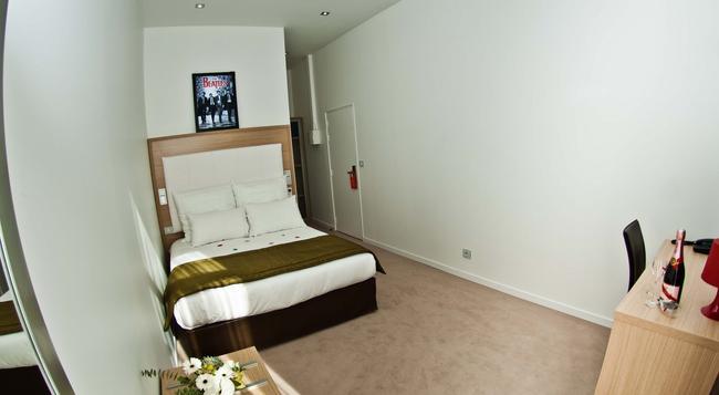 Music Hotel - マルセイユ - 寝室
