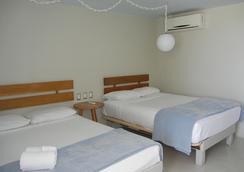 ホテル ロカマール - イスラ・ムヘーレス - 寝室