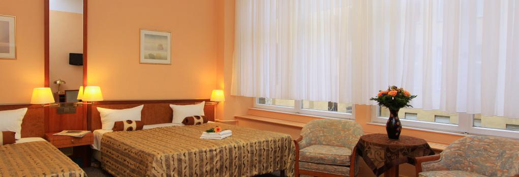 ホテル ポツダマー ホフ ベルリン アム ポツダマープラッツ - ベルリン - 寝室