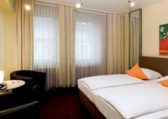 ホテル モノポール - デュッセルドルフ - 寝室