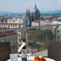 インターシティホテル ウィーン Outdoor Dining
