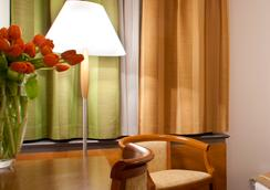 セントラル ホテル - リュブリャナ - 寝室