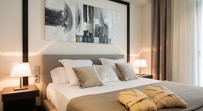 Cosmopolita Hotel-boutique - Platja d'Aro - 寝室