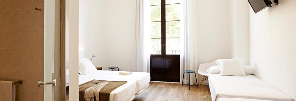 ソム ニト ボルン - バルセロナ - 寝室