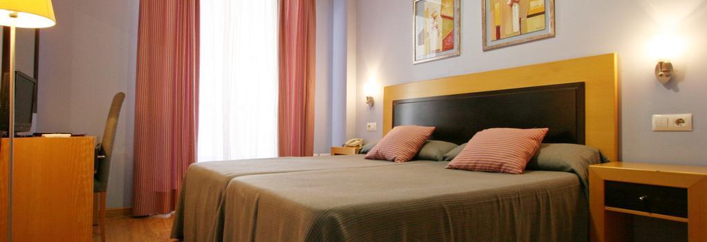 Hotel San Marcos - バダホス - 寝室
