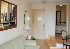 ホテル パウリスタ ウォール ストリート - サンパウロ - 寝室
