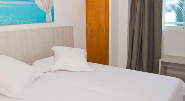 アパルタメントス パノラマミック - イビサ - 寝室