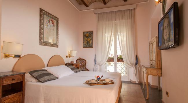 ホテル サンタンジェロ - ローマ - 寝室