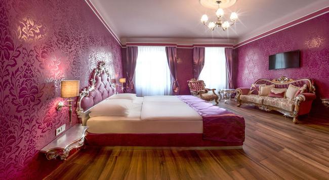 ホテル ウラニア - ウィーン - 寝室