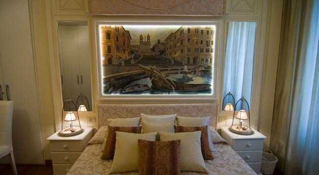 B&B Les Suites - ローマ - 寝室
