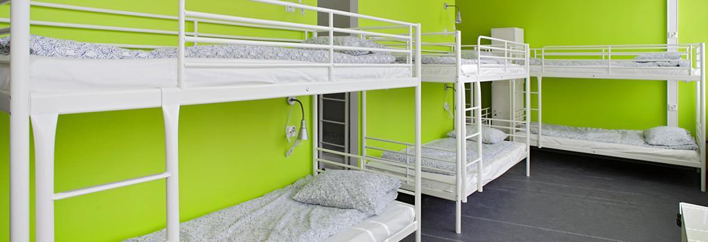 チープスリープ ホステル ヘルシンキ - ヘルシンキ - 寝室