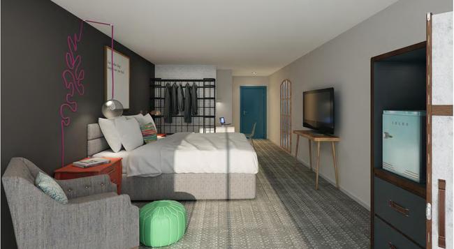 Hotel Ylem - ヒューストン - 寝室