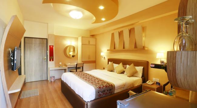 ホテル ムーンライト - カトマンズ - 寝室