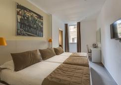 トレビ パレス ホテル - ローマ - 寝室