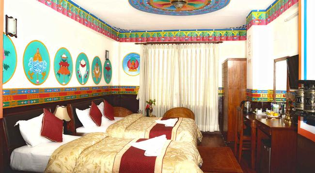 カトマンズエコホテル - カトマンズ - 寝室