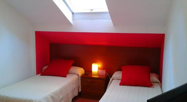 Hotel B-Nor - サンティアゴ・デ・コンポステーラ - 寝室