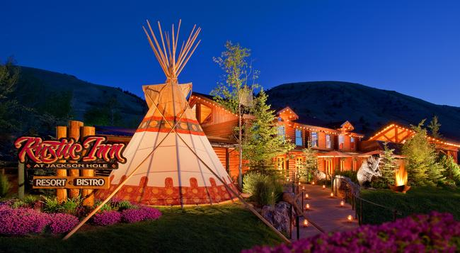 Rustic Inn Creekside Resort And Spa at Jackson Hole - ジャクソン - 建物