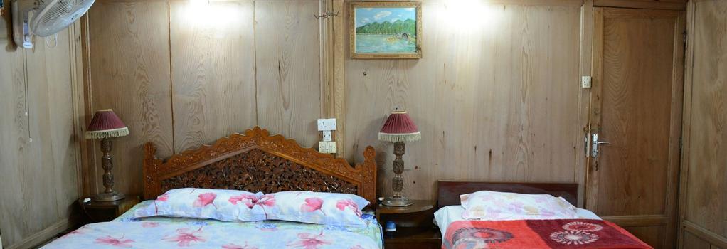 Houseboat Zaindari Palace - Srinagar - 寝室