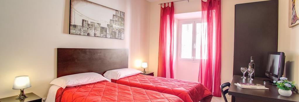 ホステル モザイク - ローマ - 寝室