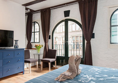 Crown Bed and Breakfast Amsterdam - アムステルダム - 寝室